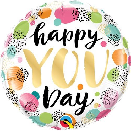Happy you day - folija balon