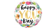 Happy you day - foil balloon
