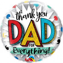 Thank you dad for everything! - foil balloon