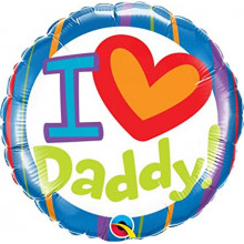 I love Daddy! - folija balon