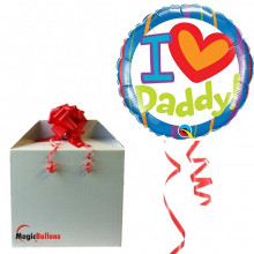 I love Daddy! - Folienballon In Paket