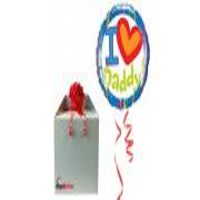 I love Daddy! - folija balon v paketu