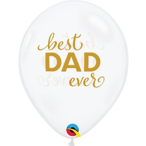 Best DAD ever - lateks baloni