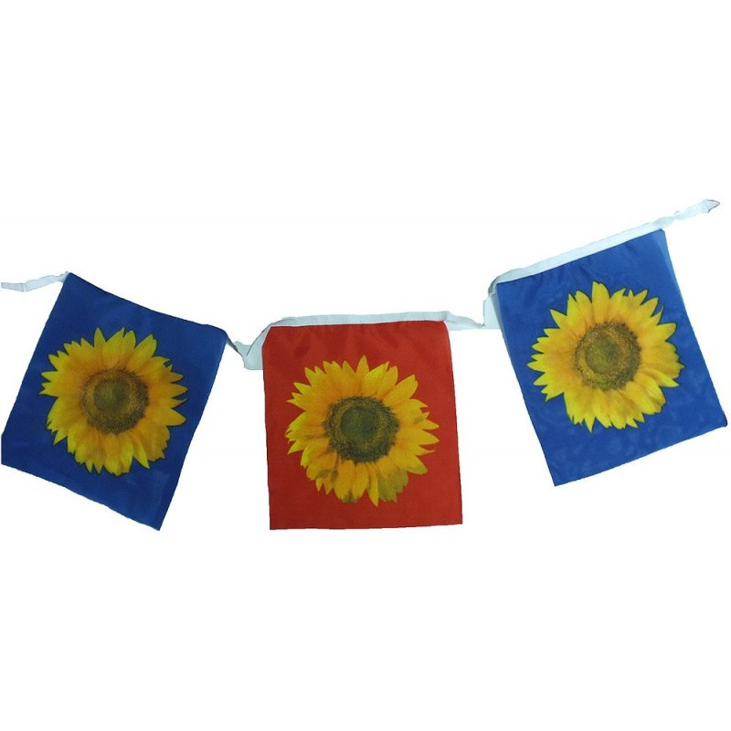 Sunflower flag banner