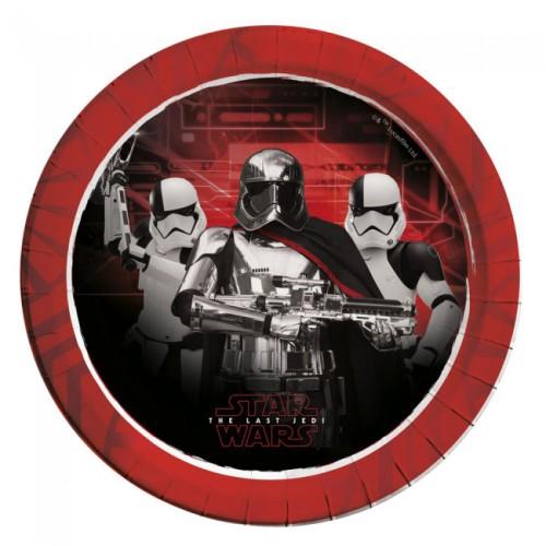Star Wars paper plates 23 cm