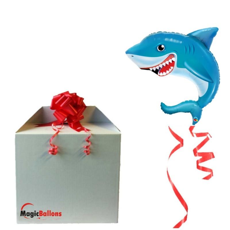 Shark - foil balloon in a package