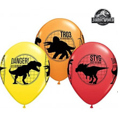 Jurassic World - latex balloons