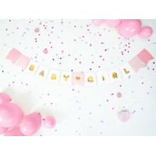 Banner Baby Girl - mix color