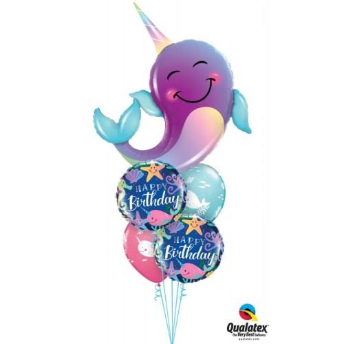 Narwhal - folija balon