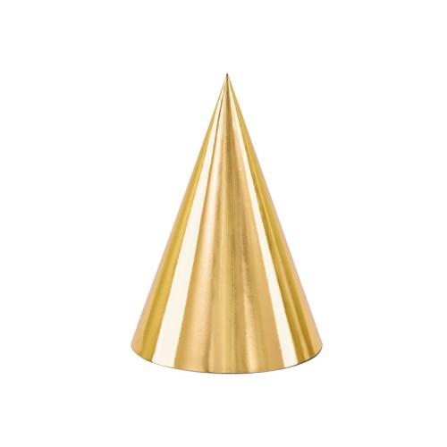 Golden party hüte