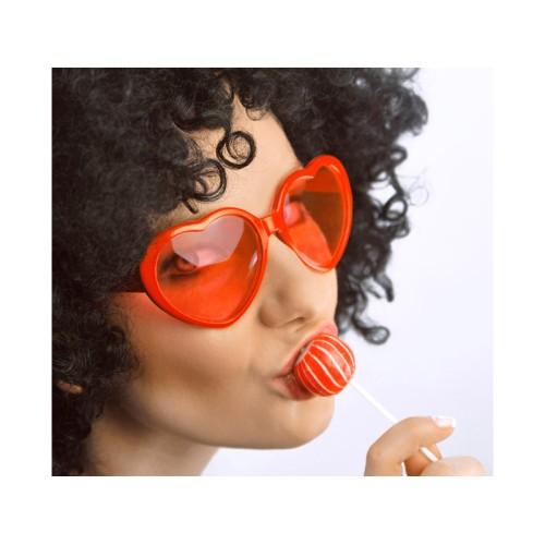 Očala - rdeče srce
