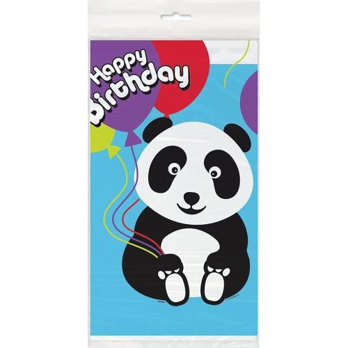 Birthday Panda tablecover