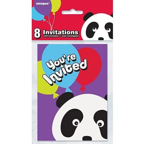 Panda Invitations