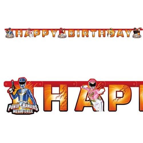 Banner HB Power Rangers