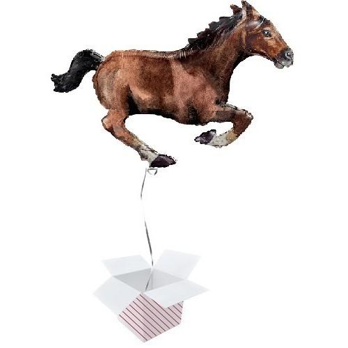 Konj u galopu - folija balon u paketu