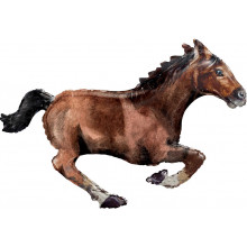 Konj v galopu - folija balon v paketu