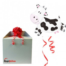 Cow - foil balloon in a package