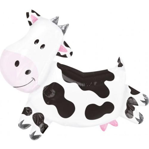 Krava - folija balon v paketu