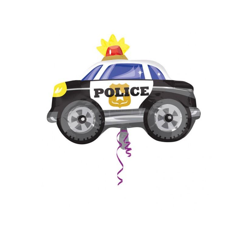 Police car - foil balloon