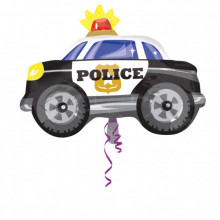 Police car - foil balloon