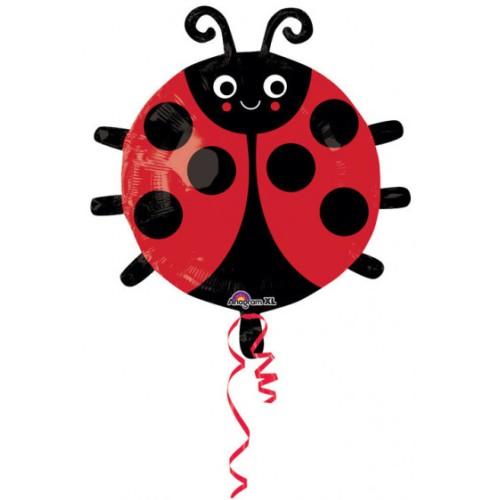 Ladybug - foil balloon