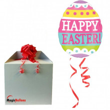 Easter egg - foil balloon in a package