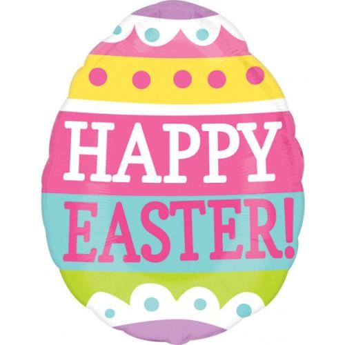 Easter egg - foil balloon