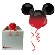 Mickey Mouse - Ombre foil balloon in a package