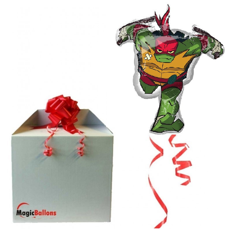 Ninja želve Raphael - folija balon