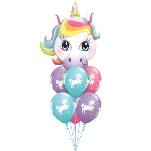 Čarobni samorog - folija balon