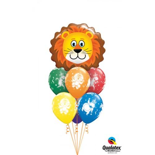 Lovable Lion - foil balloon