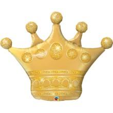 Golden Crown - Folienballon