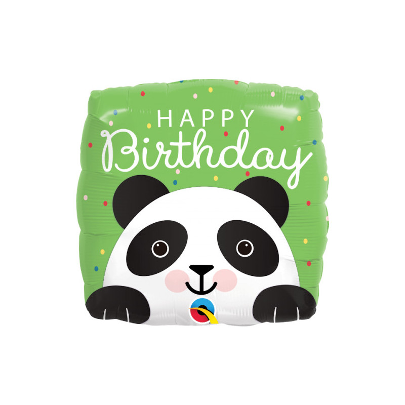 Birthday Panda - foil balloon