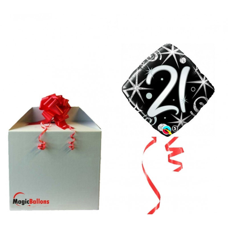 Elegant Sparkles & Swirls 21 - Folienballon