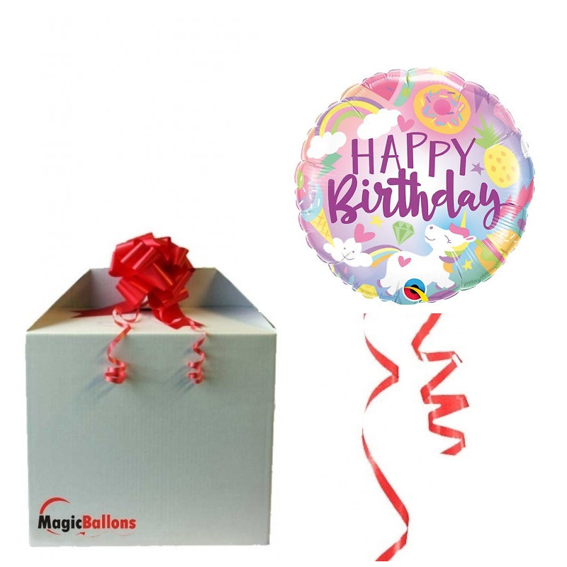 Fantactical Fun Birthday - foil balloon in a package