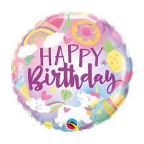 Fantactical Fun Birthday - folija balon