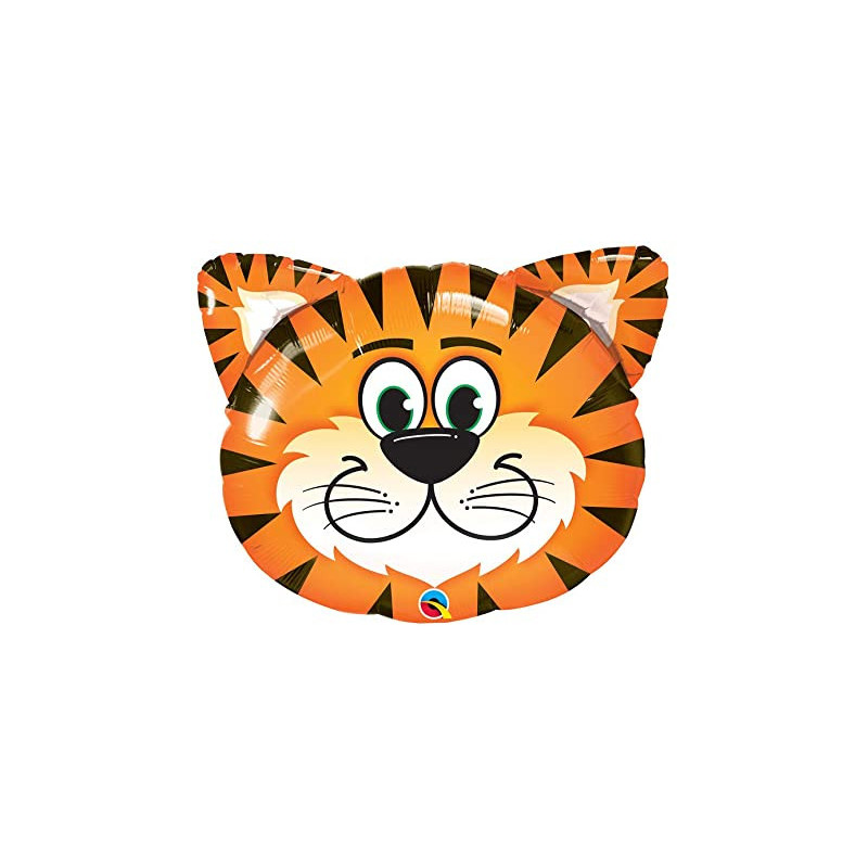Tickled Tiger - foil balloon