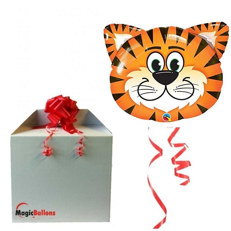 Žgečkljivi tigrček - folija balon
