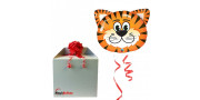 Tickled Tiger - foil balloon