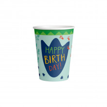 Dino paper cups