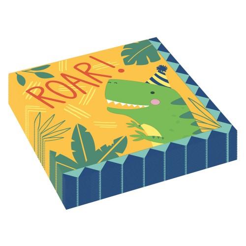 Dino napkins