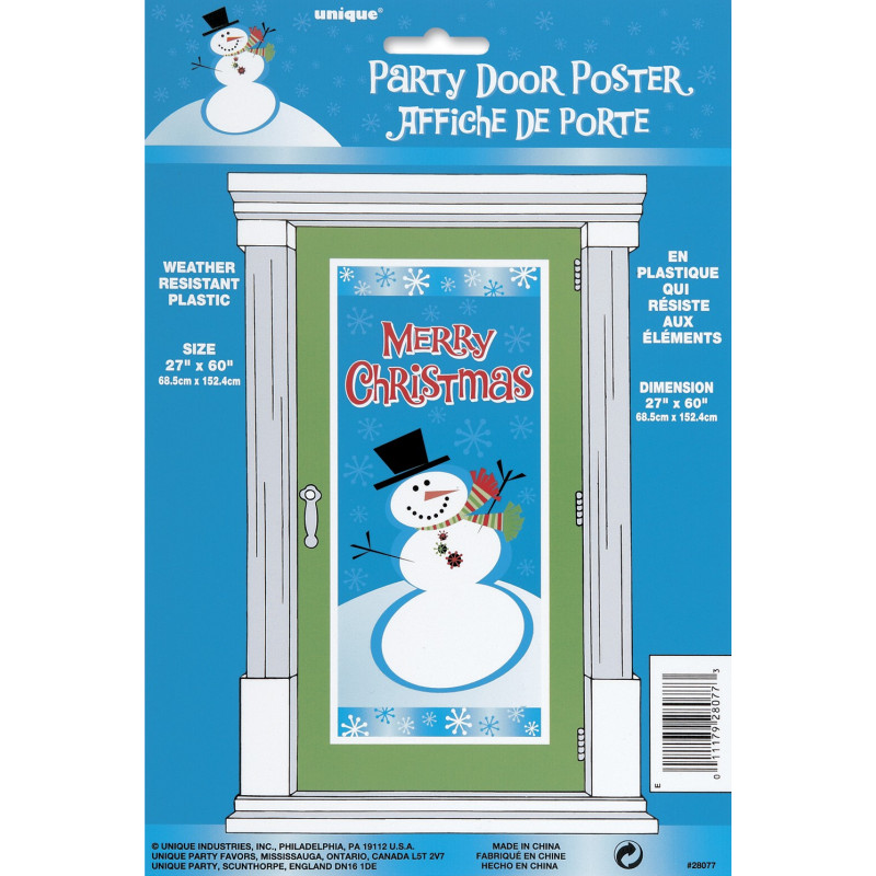 Night Before Christmas Door plakat