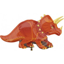 Triceratops - foil balloon