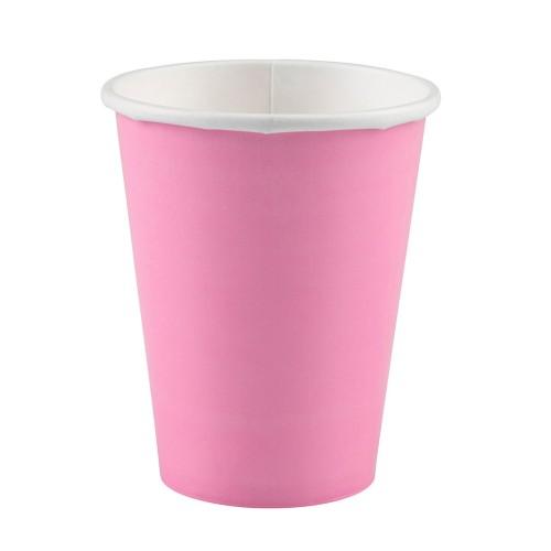 Becher 266 ml - pink 8 Stk.
