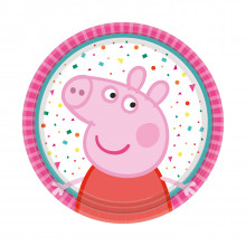 Peppa Pig paper plates 18 cm