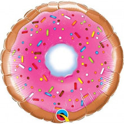 Donut - Folienballon auf einem Stäbchen