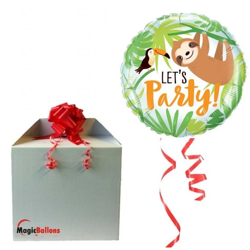 Let's Party Toucan&Sloth - foil balloon