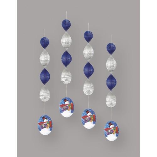 Stellar Snowman  viseča dekoracija