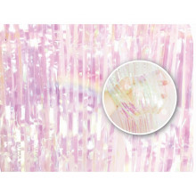 Shimmer curtains - Iridescent