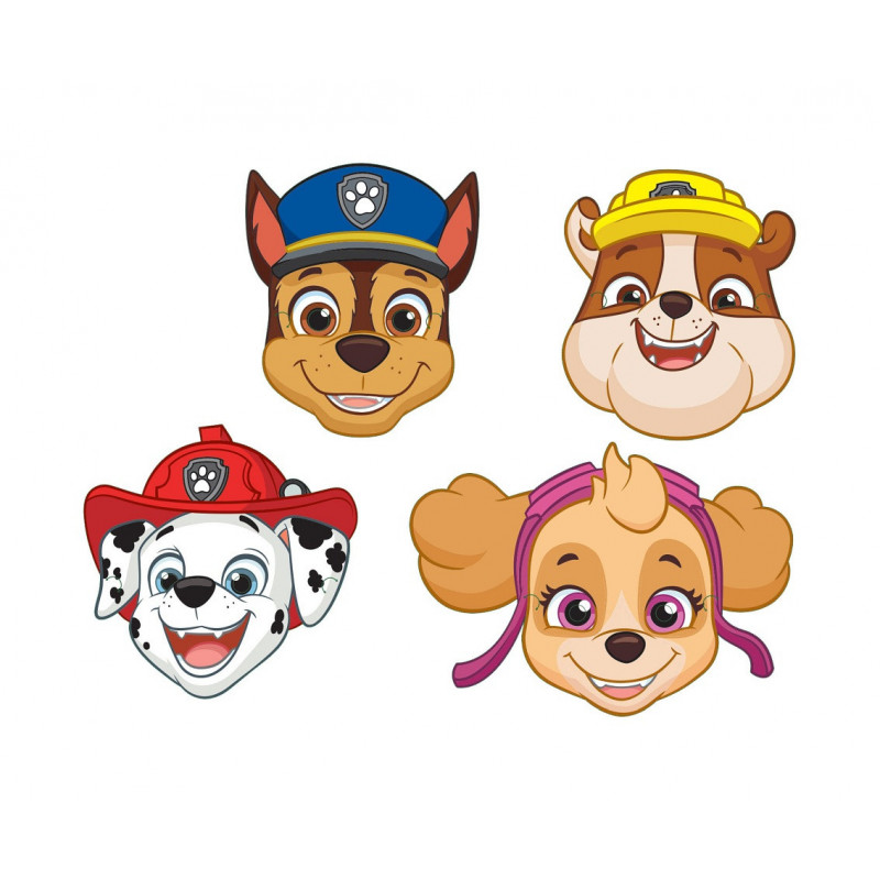 Kinder Masken - Paw Patrol